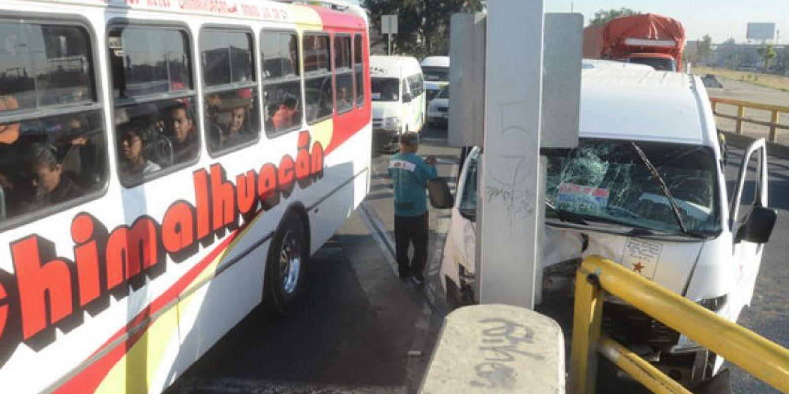 En el Valle de México hay35 mil autobuses y microbuses obsoletos y altamente contaminantes Foto:Cuartoscuro
