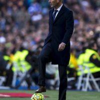 Zinedine Zidane comanda su primera última instancia de la Champions Foto:Getty Images