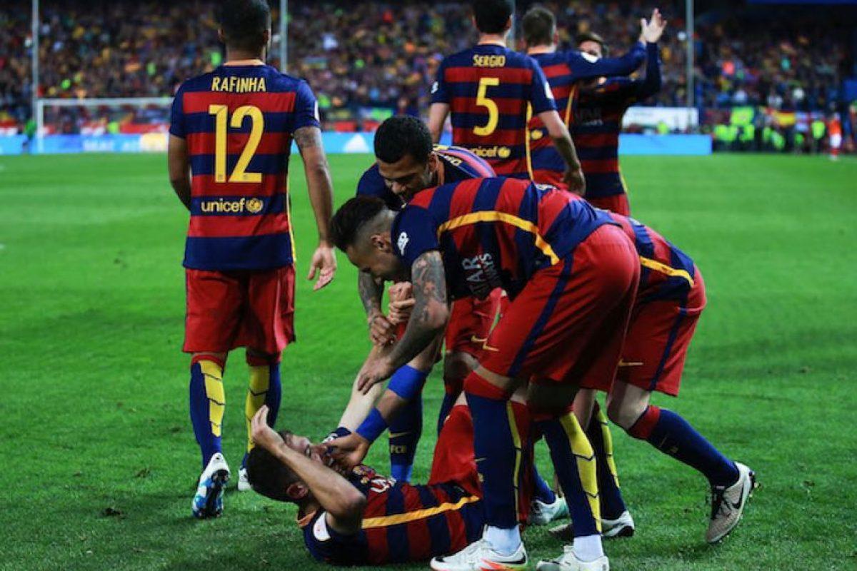 Barcelona es el Rey de España Foto:Getty Images
