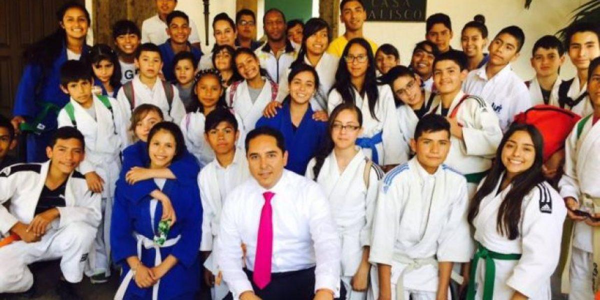 Masters de Judo en GDL, con los dedos en la puerta