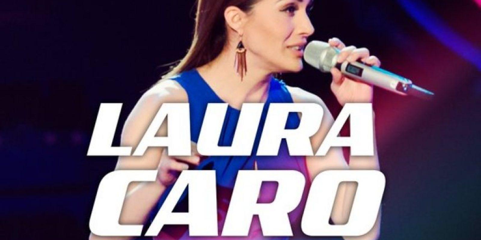 """Laura Caro, ex alumna de """"La Academia"""" buscó una nueva oportunidad en la televisora de la competencia. Foto:Televisa"""