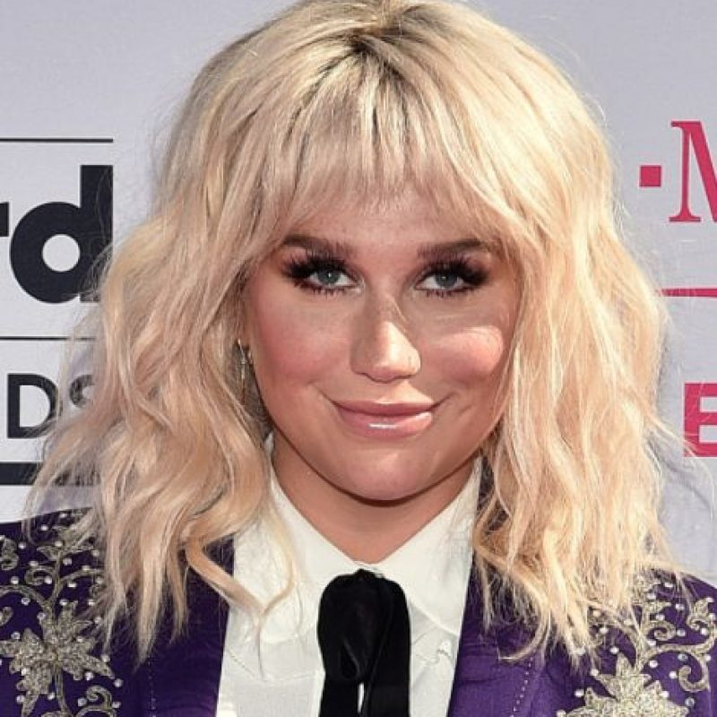 Kesha ahora está en la mira por su denuncia de abuso sexual contra su antiguo productor. Foto:vía Getty Images