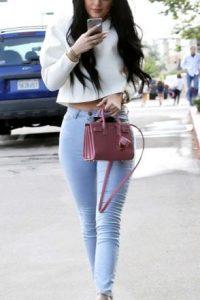 Kylie con su estilo impactante y accesible. Foto:vía Getty Images