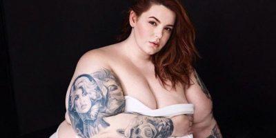 Dice que un cuerpo normal, es como el que ella tiene. Foto:Vía Instagram/@tessholliday