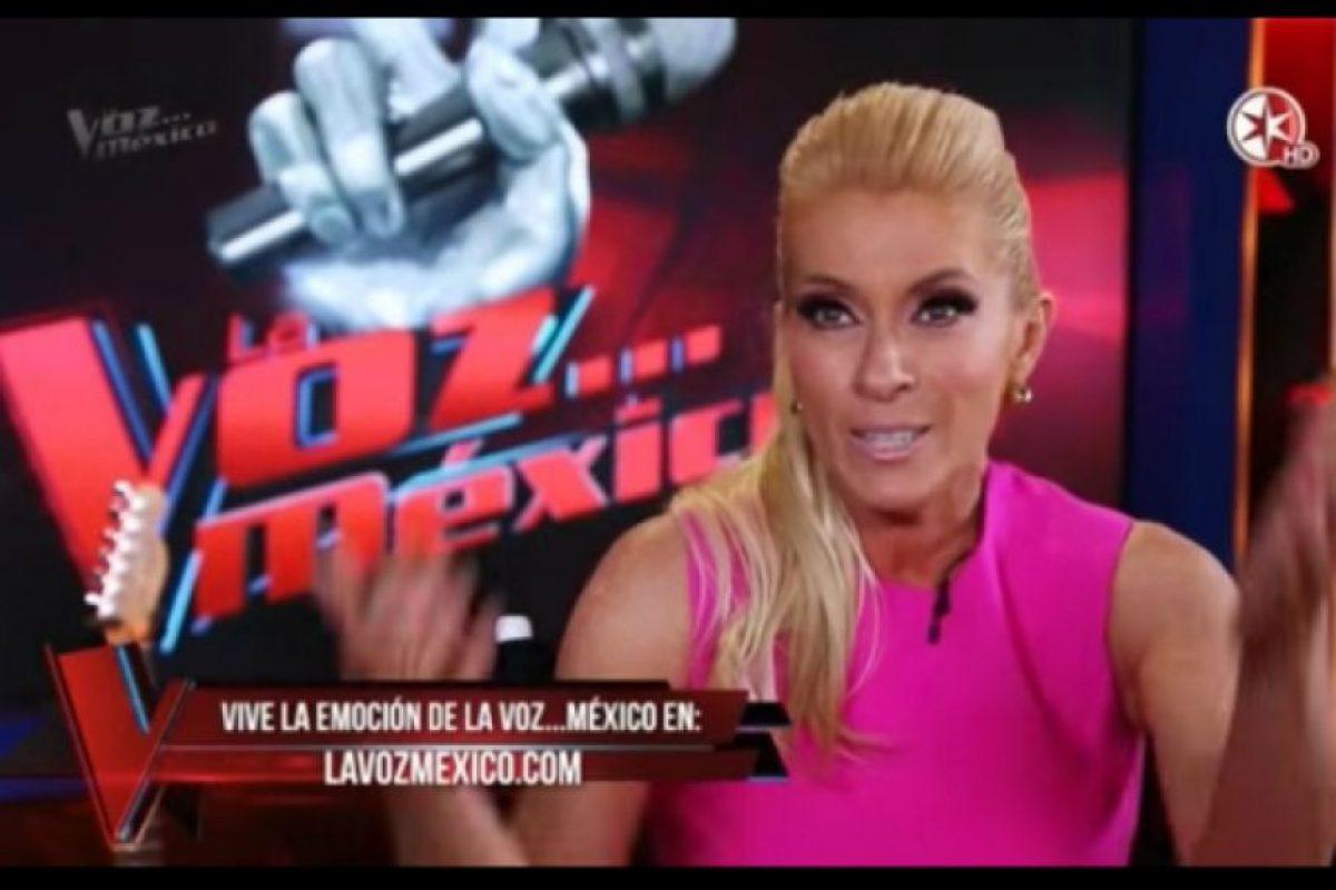 """Yuri decidió jugarles una broma a los coaches de """"La Voz… México"""" Foto:Televisa"""