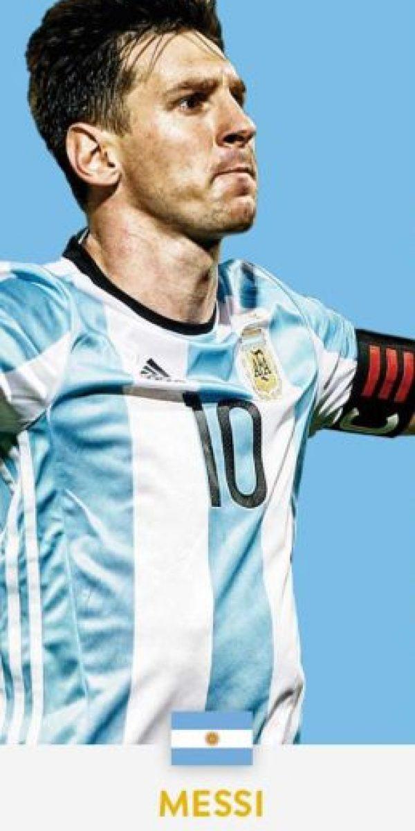 Lionel Messi (Argentina/Barcelona) Foto:ca2016.com