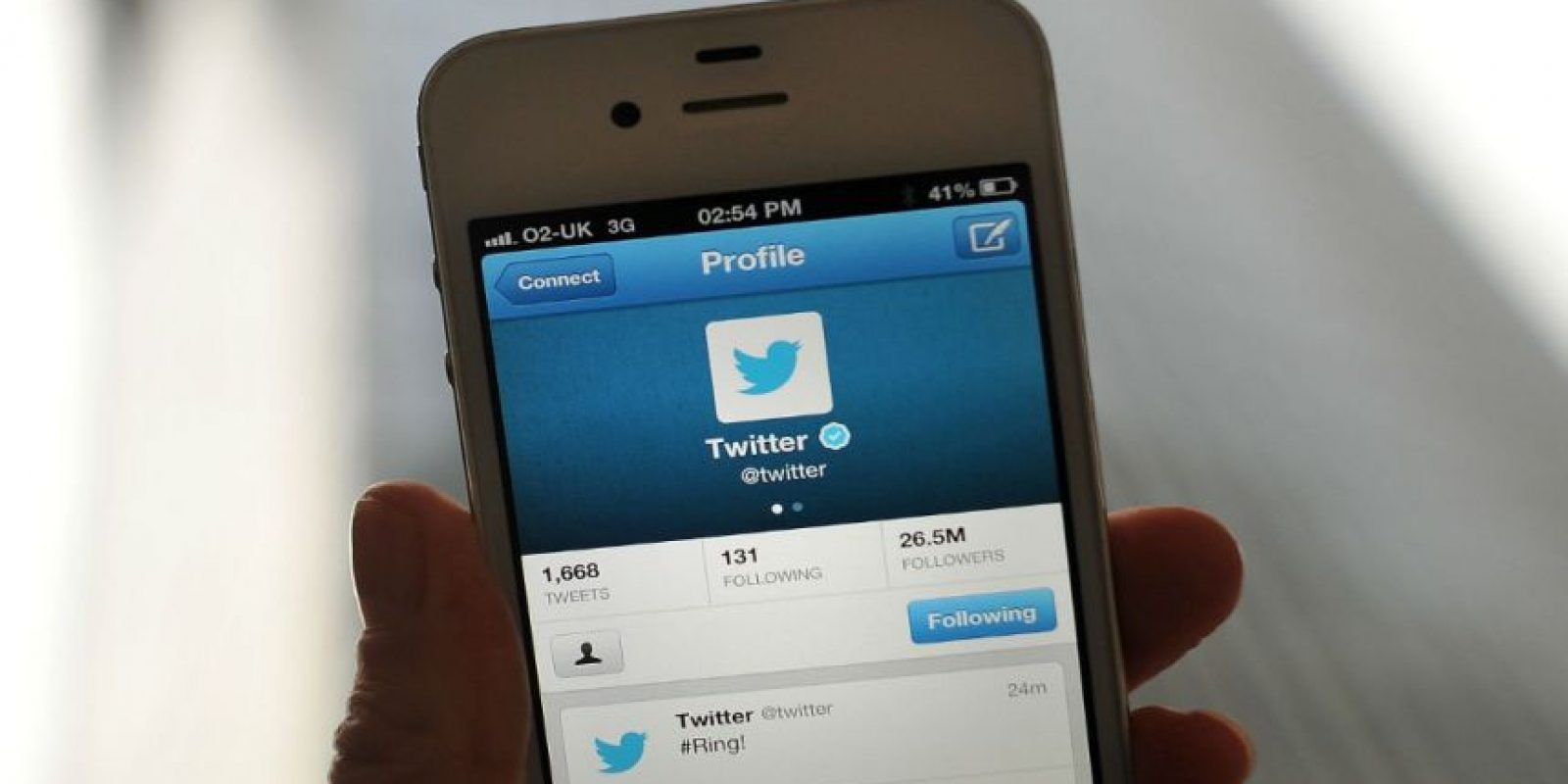 Twitter fue diseñada para ser usada únicamente en teléfonos móviles. Foto:Getty Images
