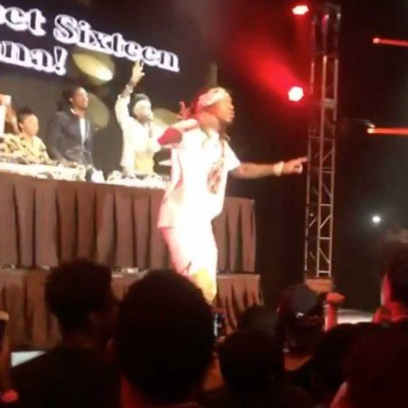 En la celebración actuaron los raperos Drake y Future. Foto:Vía instagram.com/therealtank
