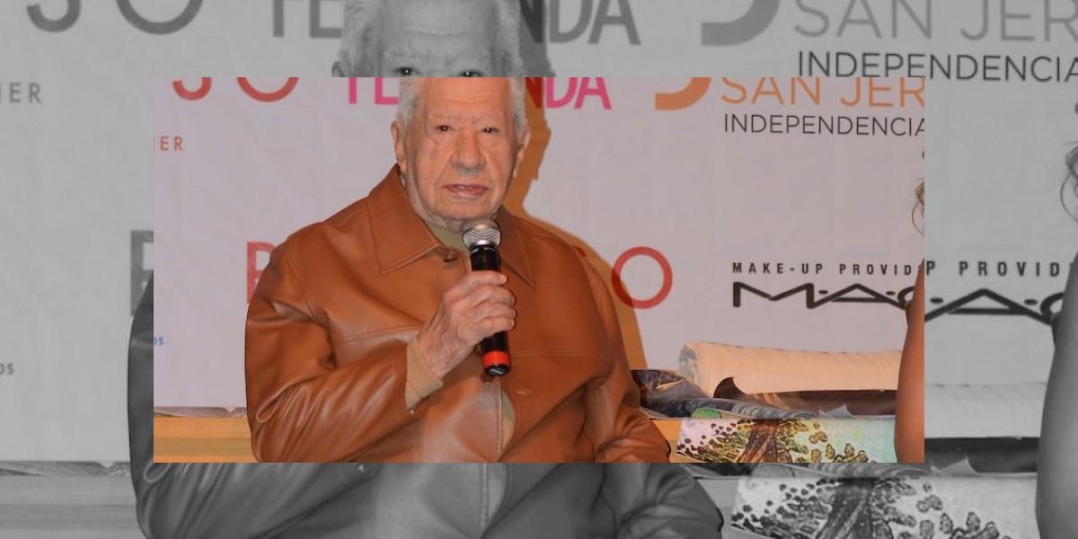 Está López Tarso de buen ánimo después de su cirugía