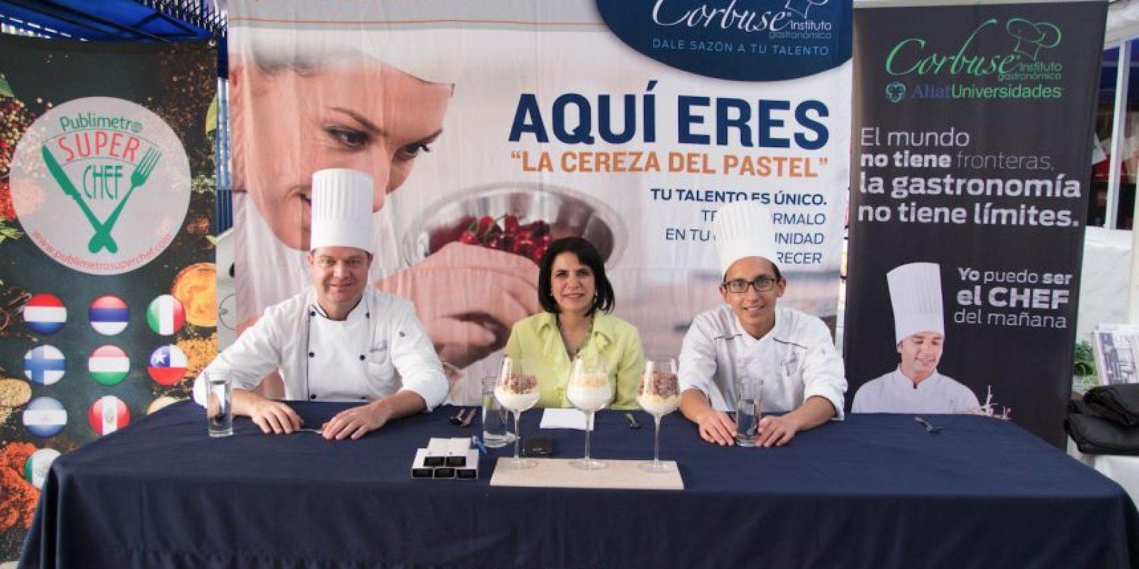 El jurado estuvo conformado por los directivos y académicos de Corbuse. Foto:Gregorio López / Publimetro