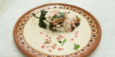 Chiles en nogada almendrada, primer lugar de Publimetro Super Chef. Foto:Gregorio López / Publimetro