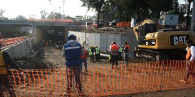 La construcción se realiza entre Churubusco y Tlalpan Foto:Especial