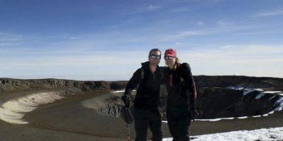 La alpinista murió frente a su esposo el mal de altura Foto:Facebook/marisa.strydom.10