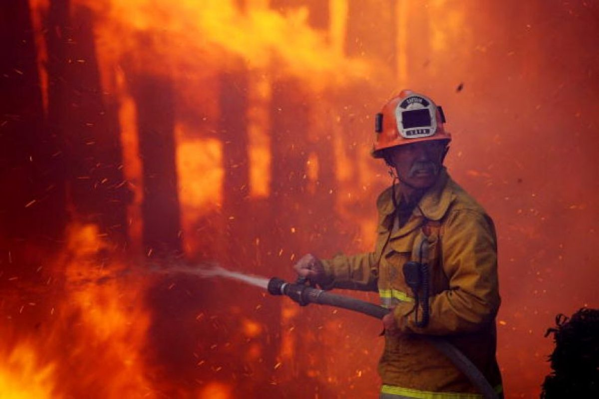 La cantidad de incendios en Estados Unidos ha disminuido en los últimos años Foto:Getty Images