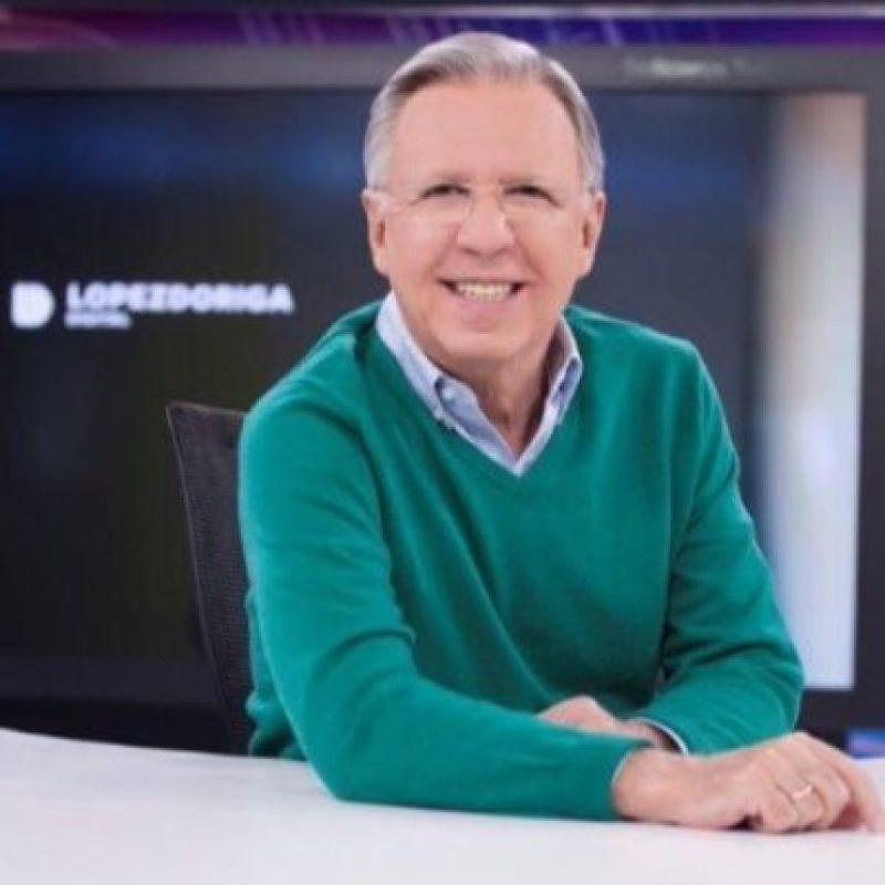 Joaquín López Dóriga colabora también para Radio Fórmula Foto:Twitter