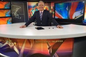 López Dóriga ha sido conductor de la edición vespertina del Noticiero durante 16 años. Foto:Twitter