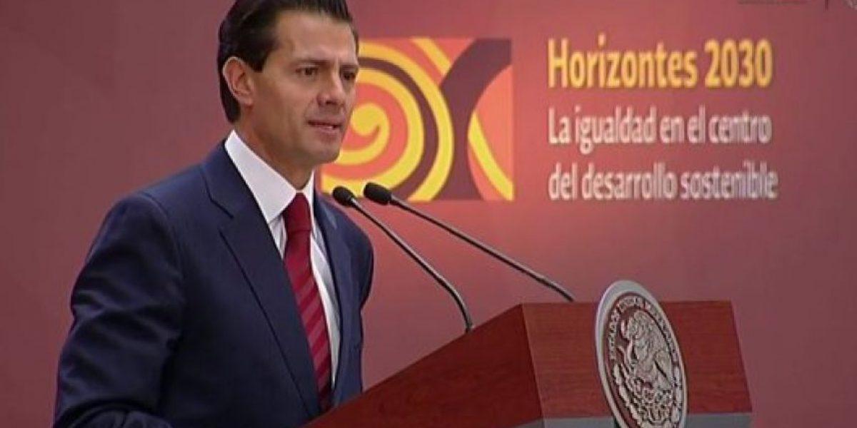 Peña Nieto ratifica compromiso de México en favor del desarrollo sostenible de AL