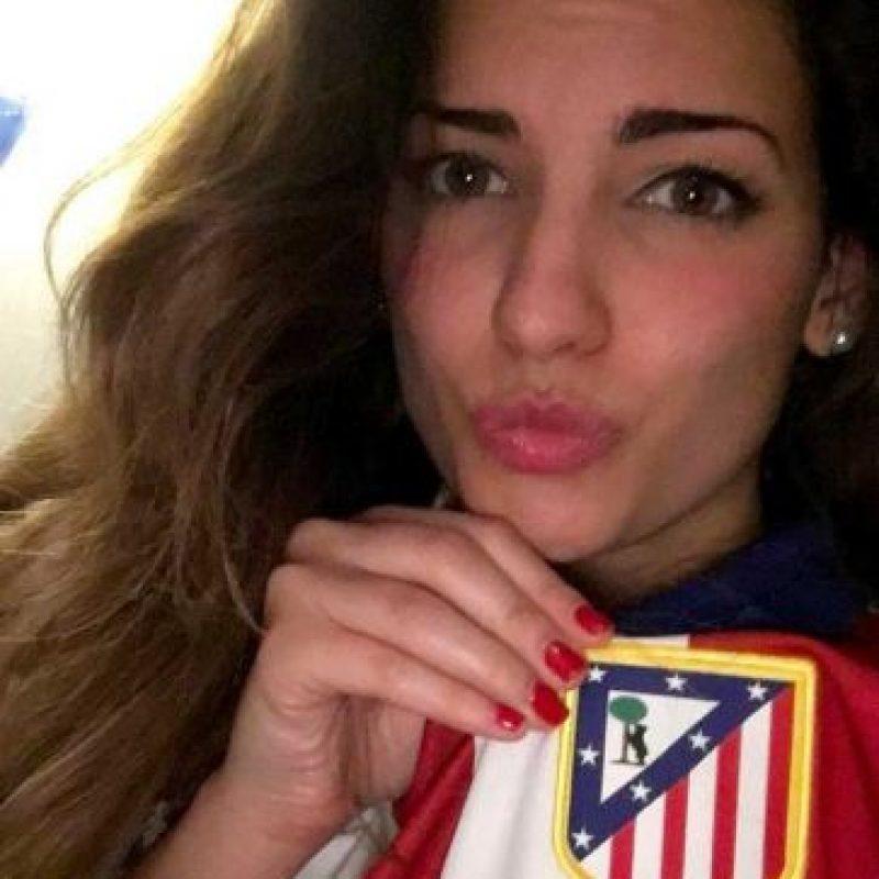 Beatriz Espejel (Koke/Atlético de Madrid) Foto:Vía twitter.com/beatrizespejel