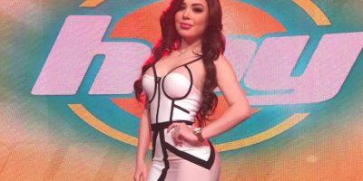 """Tracy Sáenz estuvo en el programa """"Hoy"""" promocionando su portada en la revista Playboy Foto:Instagram"""