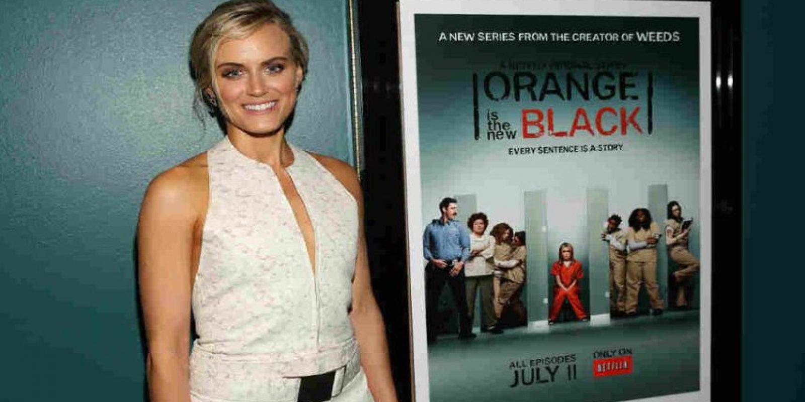 """Uno de los estrenos más esperados es la nueva temporada de """"Orange is the New Black"""" que llega el próximo mes. Foto:Getty Images"""