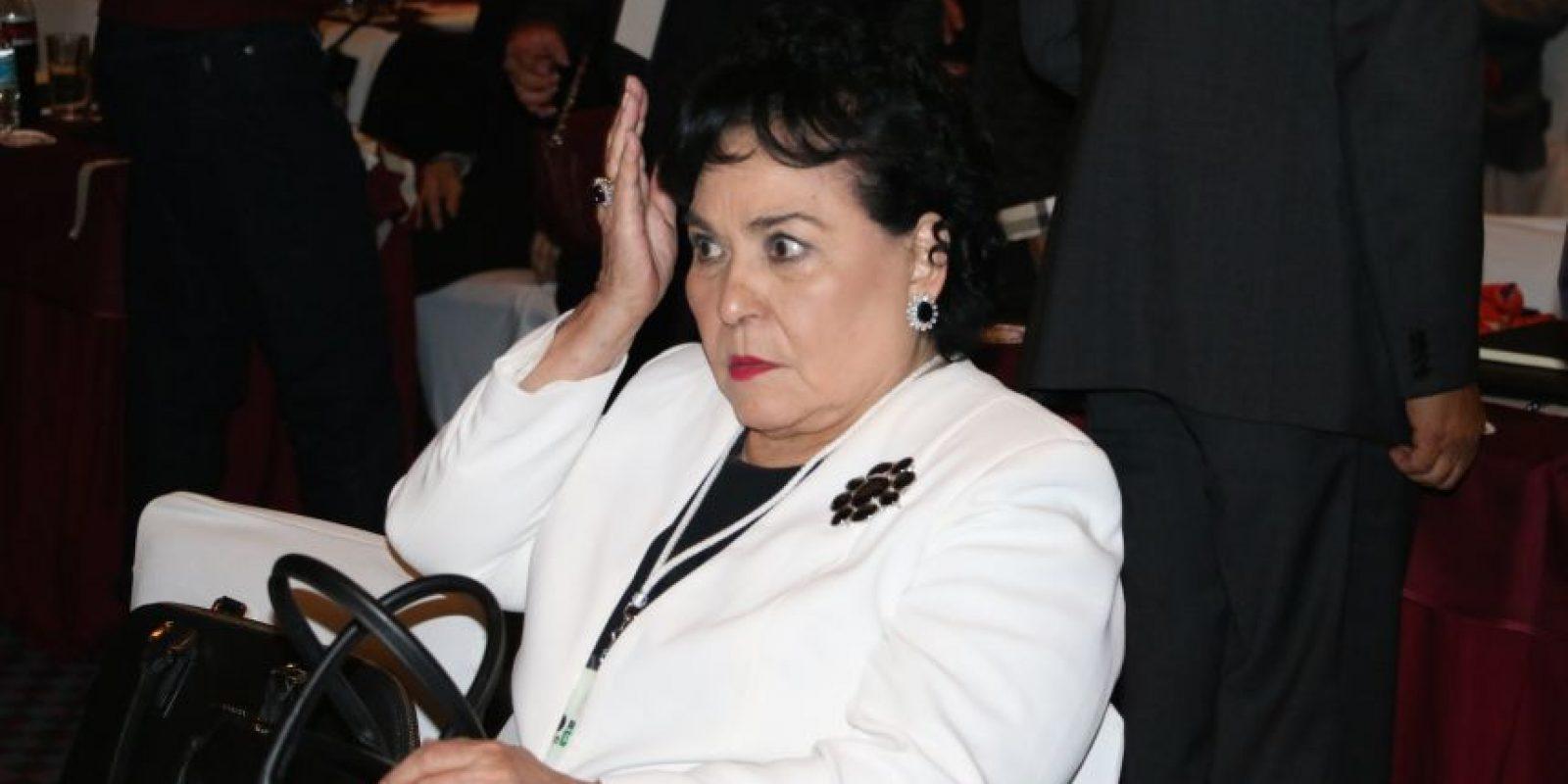 Carmen Salinas Foto:Cuartoscuro