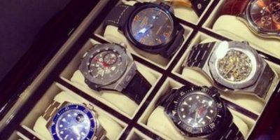 Coleccionar relojes. Foto:vía Tumblr/richkidsofInstagram