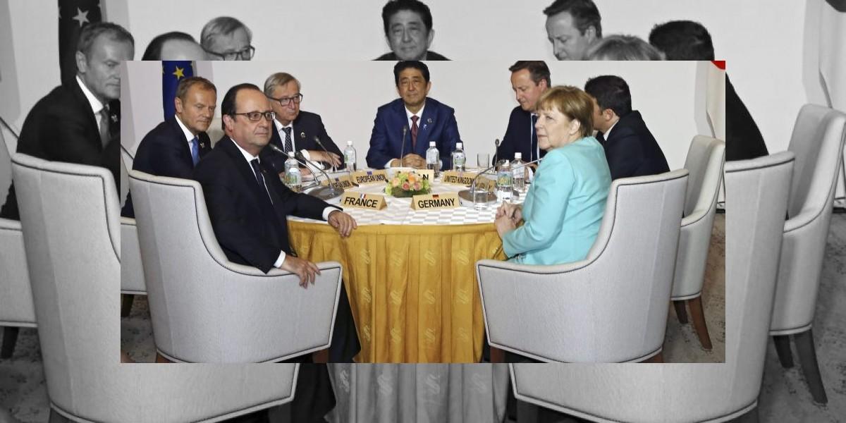 Busca cumbre del G7 recuperación económica global