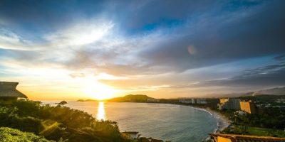 Una hermosa vista de Ixtapa. Foto:Cortesía