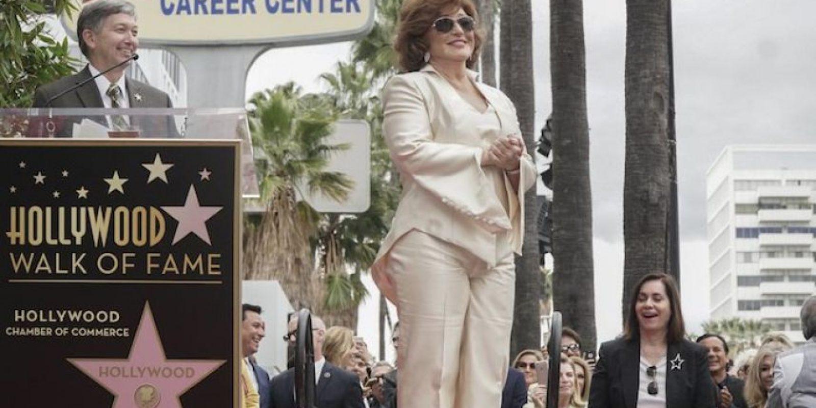 En 2008, Angélica María ganó el premio a la trayectoria musical en la entrega de los Grammy Latino. Foto:Notimex
