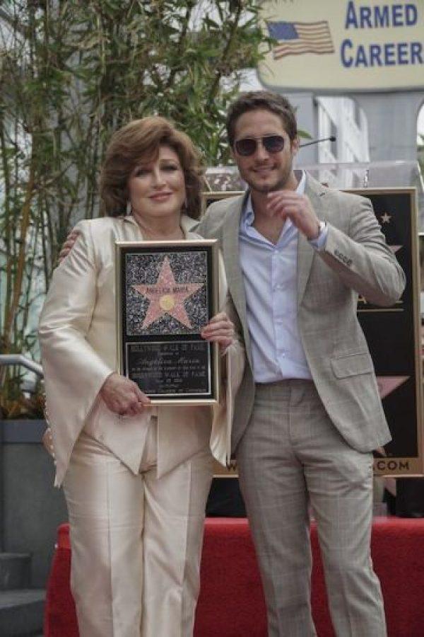 """Actualmente, Angélica María reside en Los Ángeles y trabaja con Sela Ward y Nick Nolte en la serie de comedia para televisión """"Graves"""" para la cadena EPIX. Foto:Notimex"""