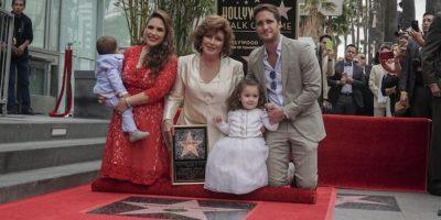 Angélica María dedicó este reconocimiento a México, Latinoamérica y su familia. Foto:Notimex