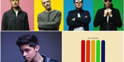 Travis, Alex Hoyer y The Strokres estrenan canciones Foto:Cortesía