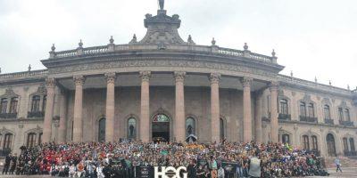Más de mil 500 motociclistas hicieron historia en este Rally. Foto:Memo Lira