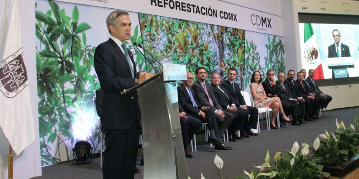 CDMX no es la más contaminada del país, afirma Mancera