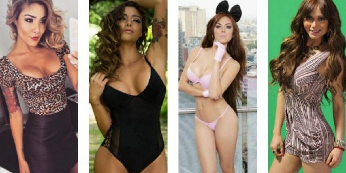 FOTOS: Erika Fernández vs. Vivian Cepeda, bellas aficionadas de Tuzos y Rayados