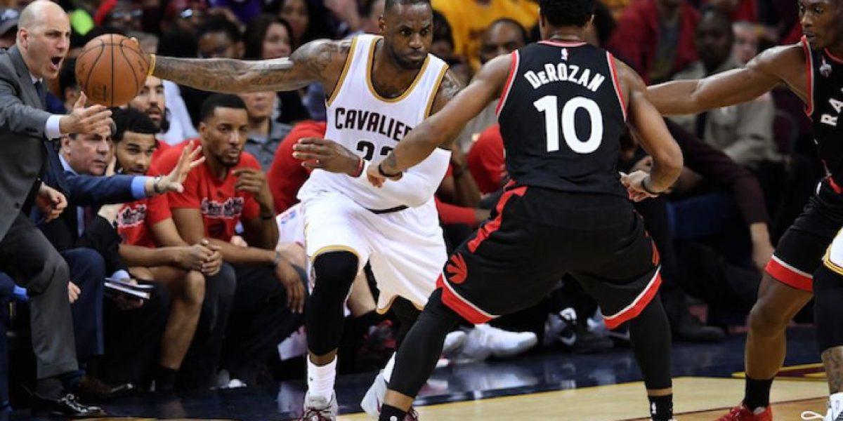 ¡Paliza! Cavs aplastan a Raptors y están cerca de la gran final de la NBA