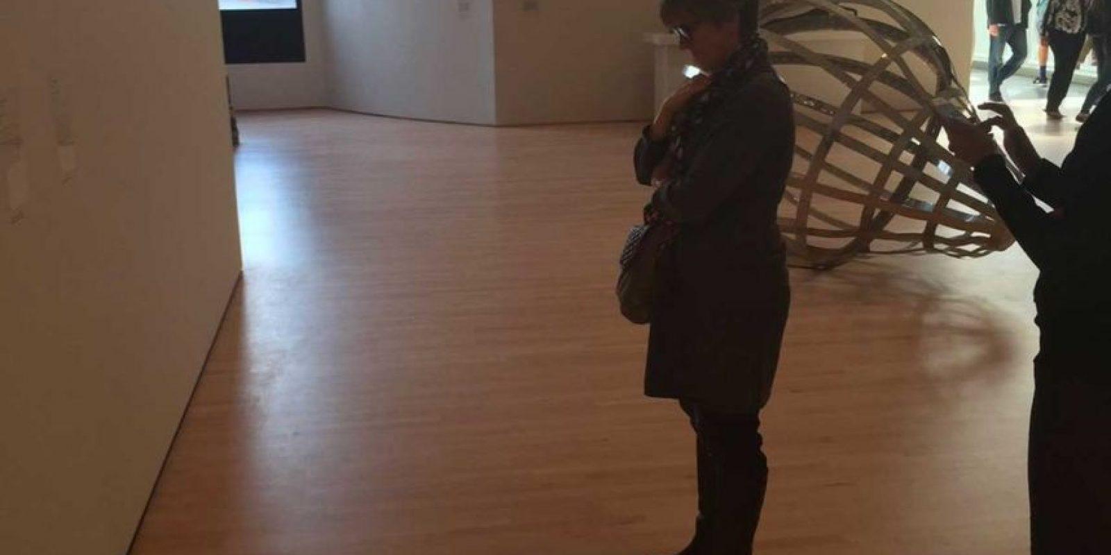 """La gente comenzó a acercarse para contemplar la """"exhibición"""" Foto:Twitter @TJCruda"""