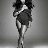 Pero la verdadera imagen y modelo desmintieron el fotomontaje Foto:Reproducción
