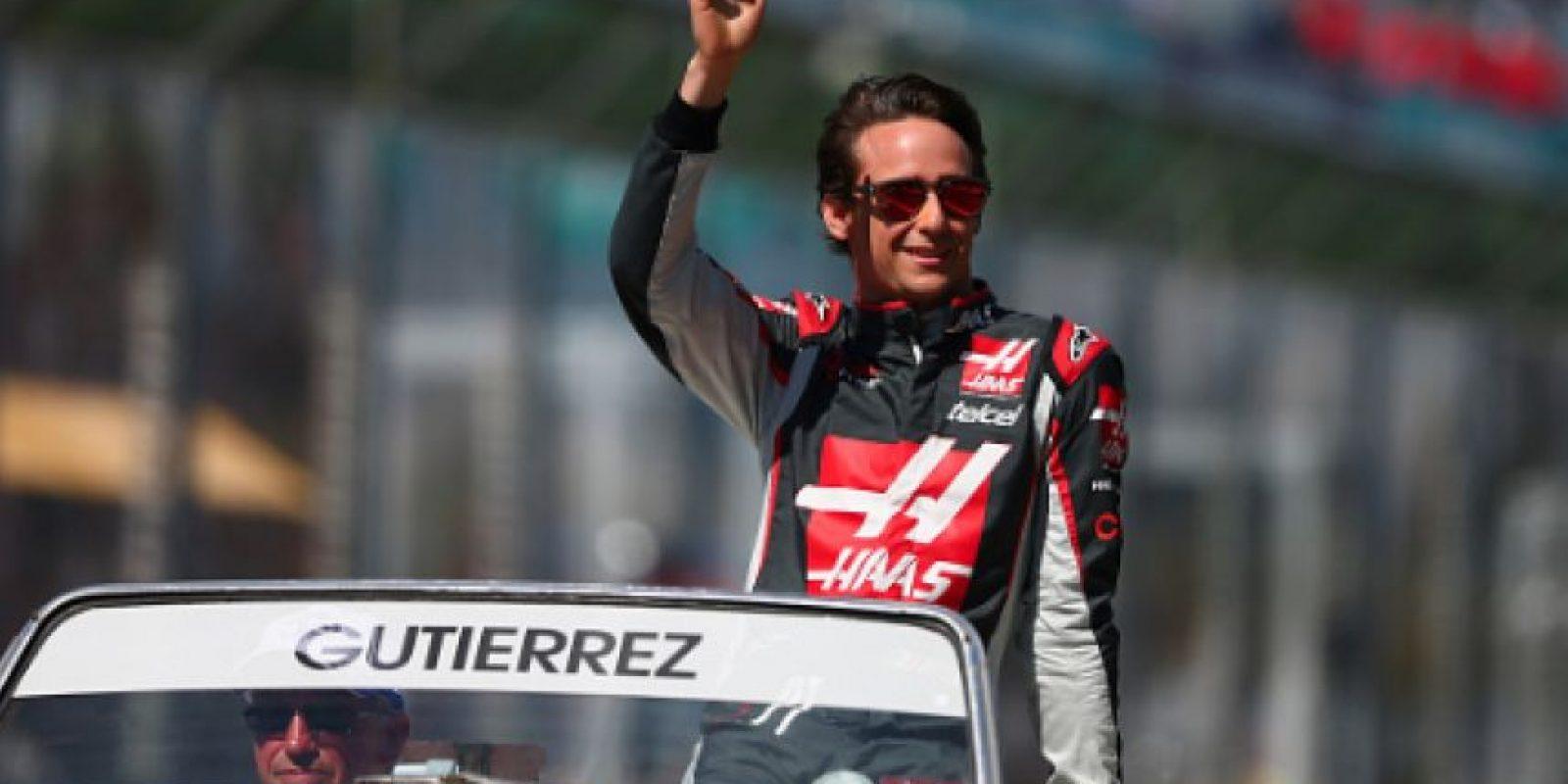 Esteban Gutiérrez no tuvo buenos resultados Foto:Getty Images