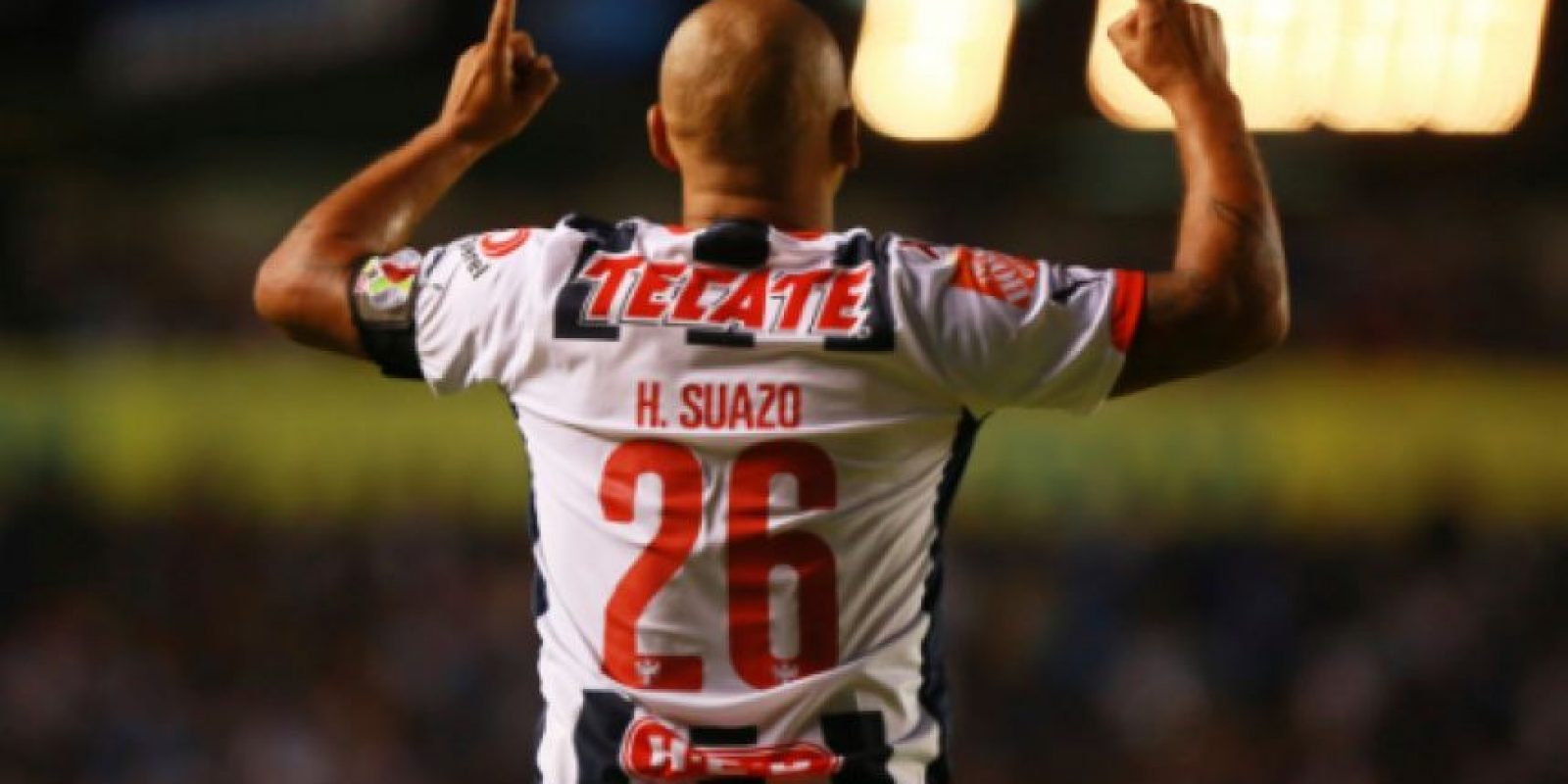 Chupete Suazo estará en la Final Monterrey vs. Pachuca Foto:Getty Images