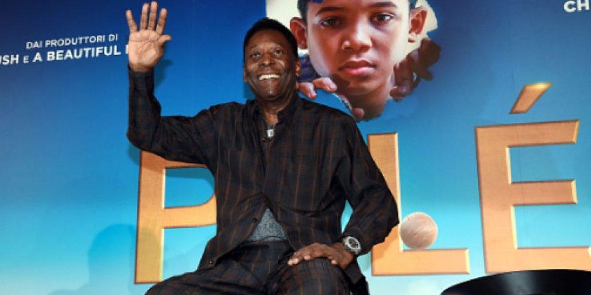 Pelé quiere ver campeón al Madrid, pero le gustaría jugar en el Barça