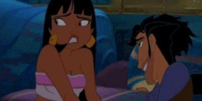 """En """"Camino hacia el Dorado"""", Tulio y Chel tienen sexo. Foto:vía Dreamworks"""