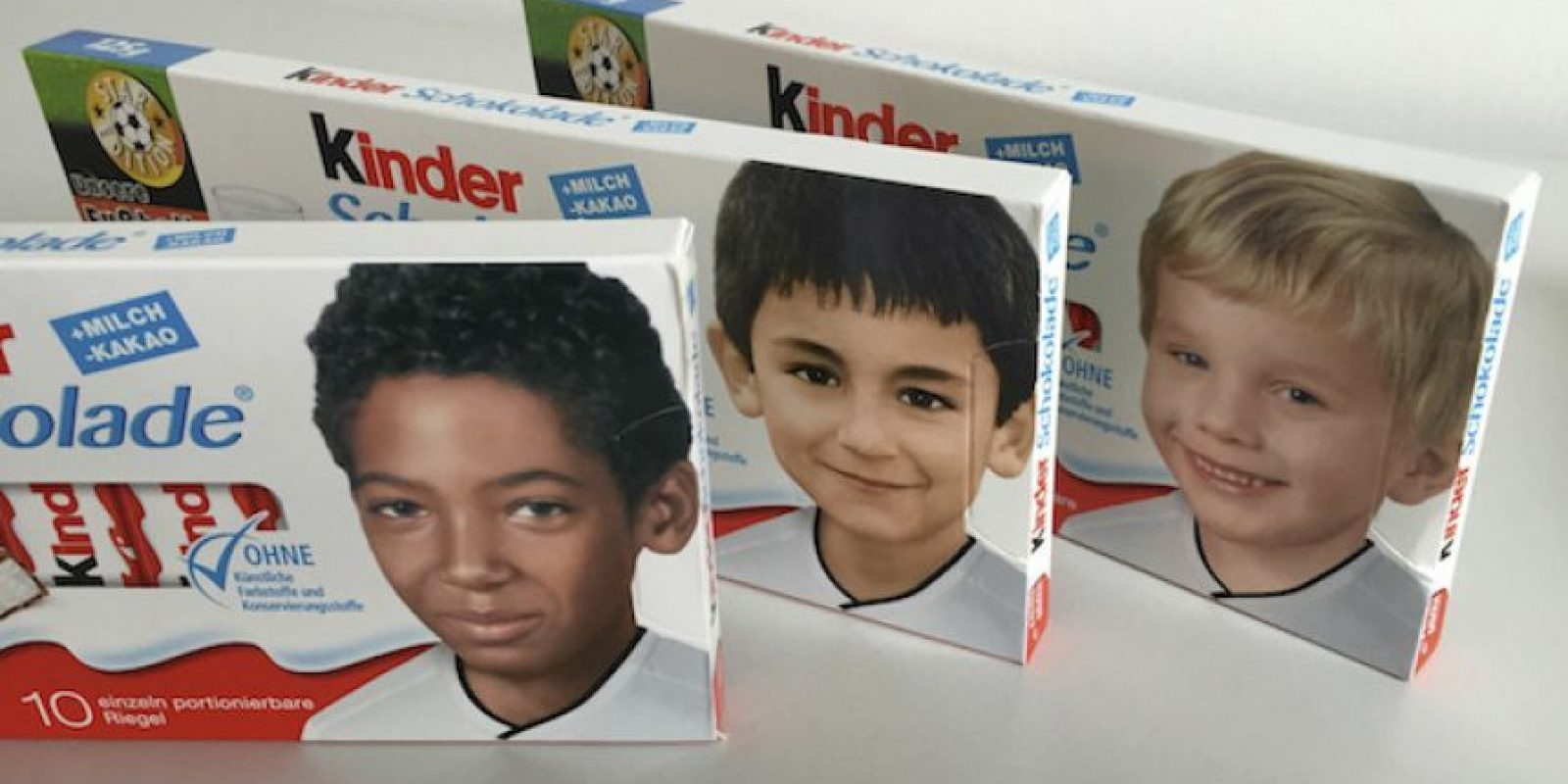 Jerome Boateng, Ilkay Gundogan y Lukas Podolski de niños. Foto:AP