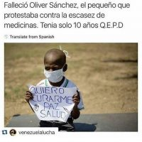 La muerte de Oliver Sánchez indigna en Venezuela Foto:Instagram.com