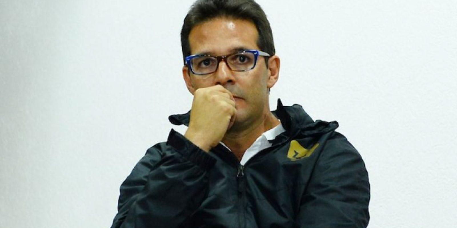 """""""Toño"""" Sancho. Foto:Mexsport"""