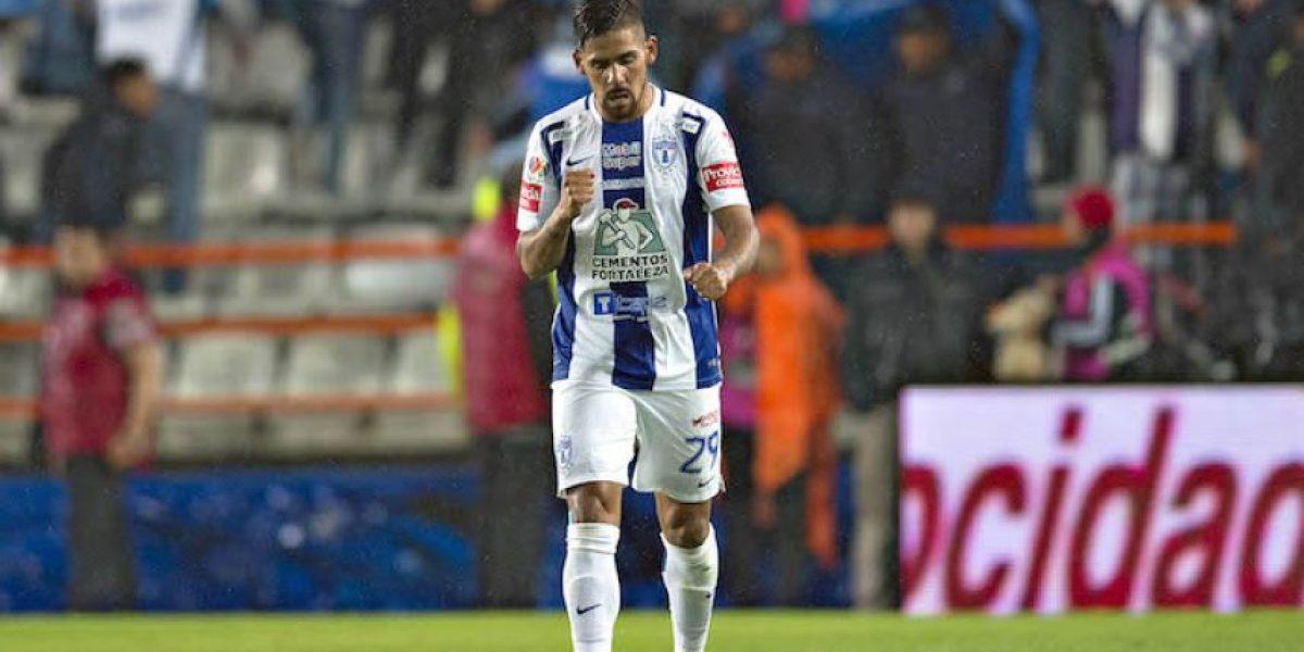 Franco Jara da ventaja al Pachuca sobre Monterrey en la gran final