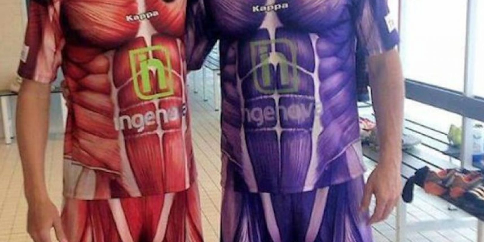 Este peculiar diseño pertenece al Club Deportivo Palencia, de España. Foto:Twitter: @CDPalencia
