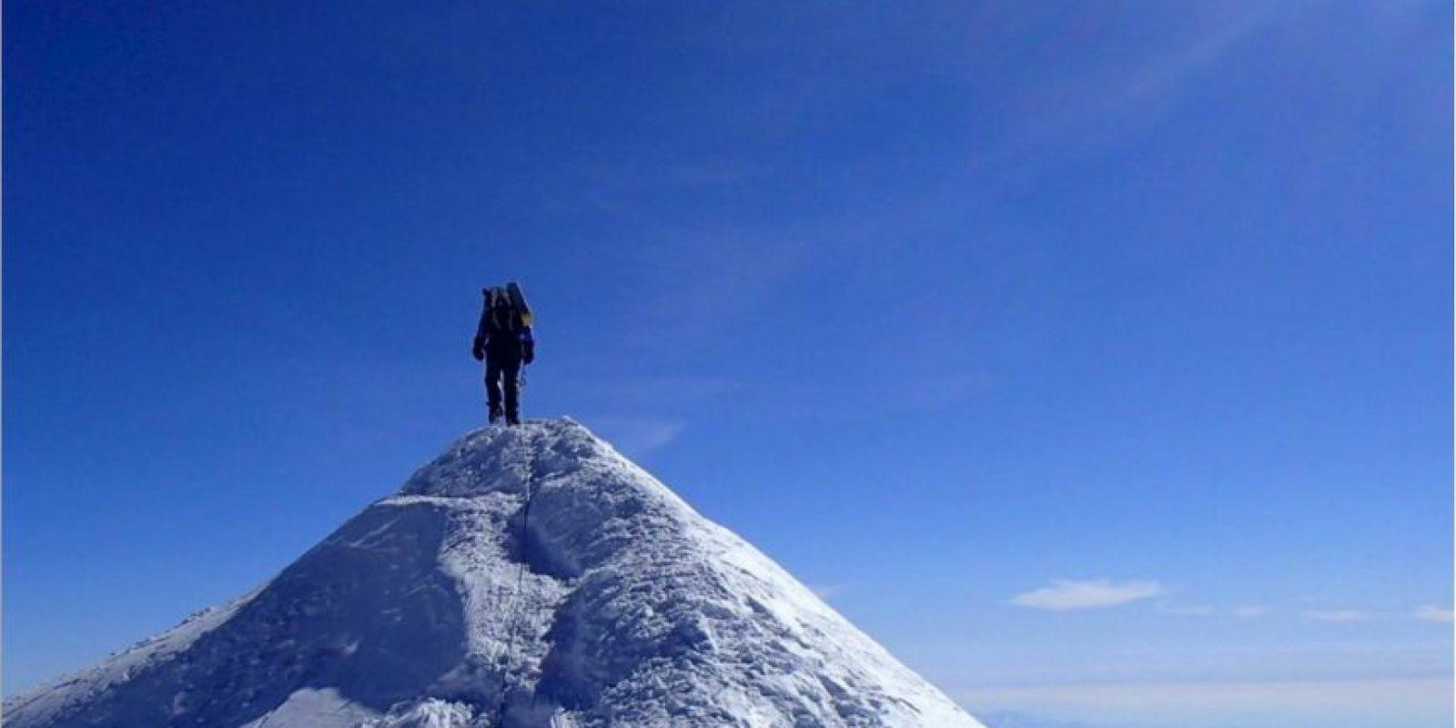 Marca la frontera entre Nepal y China Foto:Facebook/marisa.strydom.10