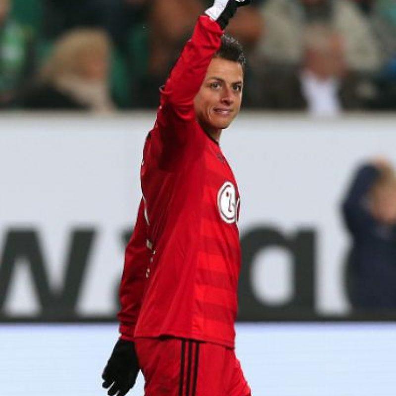 "Garantizan que ""Chicharito"" no va a salir del Bayer Leverkusen Foto:Getty Images"