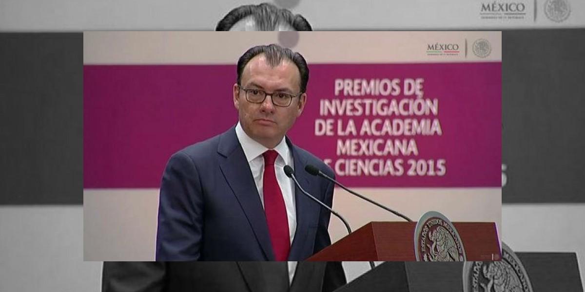 Nueva línea de crédito del FMI confirma fortaleza económica de México: Videgaray